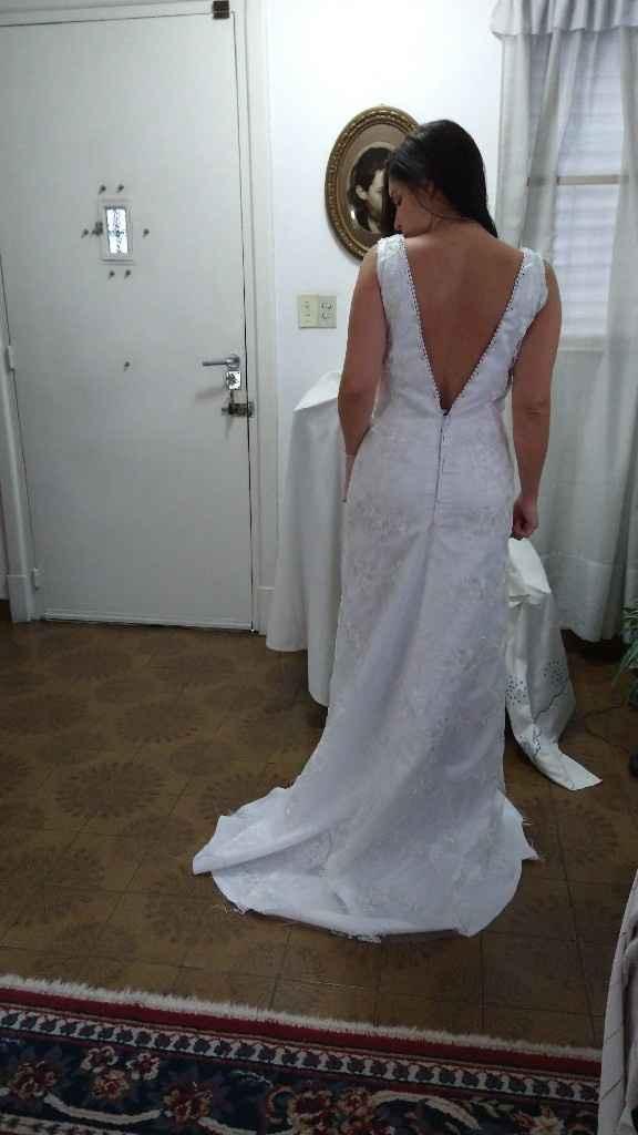 Primera y segunda prueba de vestido ♥️💃🏻 - 4