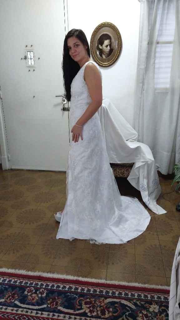 Primera y segunda prueba de vestido ♥️💃🏻 - 5