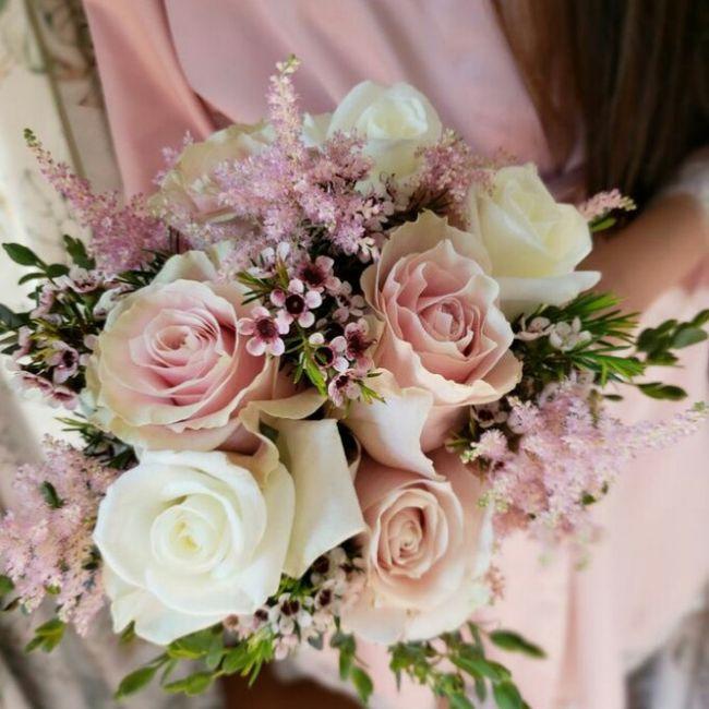 ramos de novia en color rosa ❤ 1