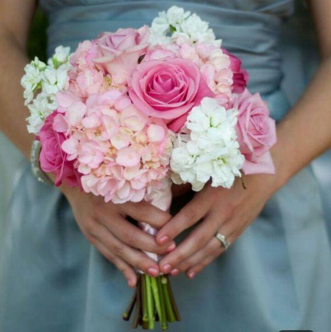 ramos de novia en color rosa ❤ 2