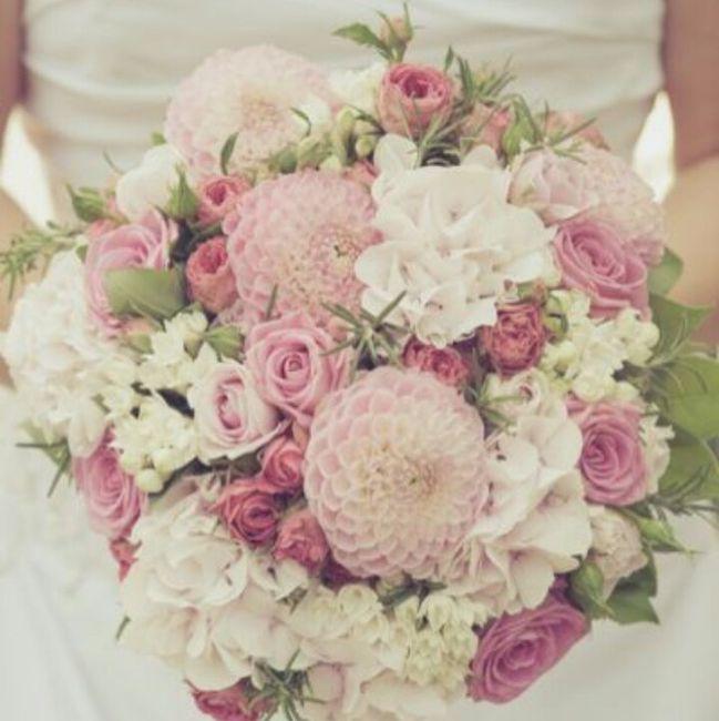 ramos de novia en color rosa ❤ 3