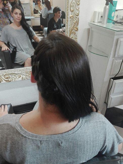 ¡Prueba de maquillaje y peinado! 💅💇 - 2
