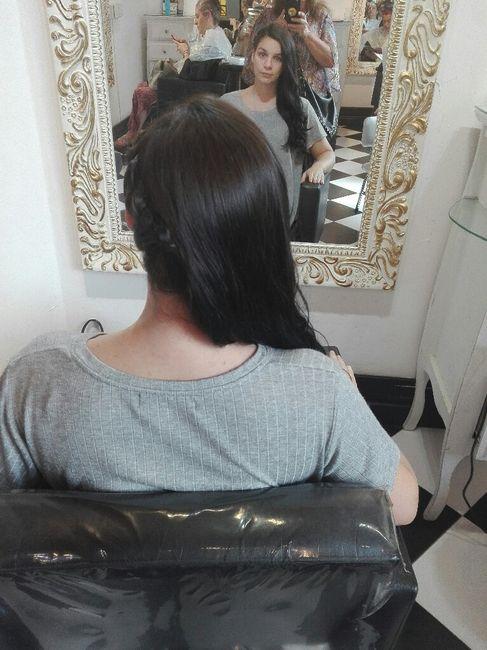 ¡Prueba de maquillaje y peinado! 💅💇 - 5