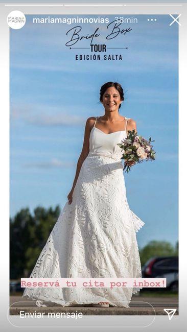 Nueva oportunidad para encontrar tu vestido de novia 2