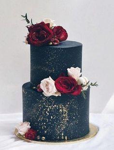4 Tortas con Fondant para un casamiento elegante - 3