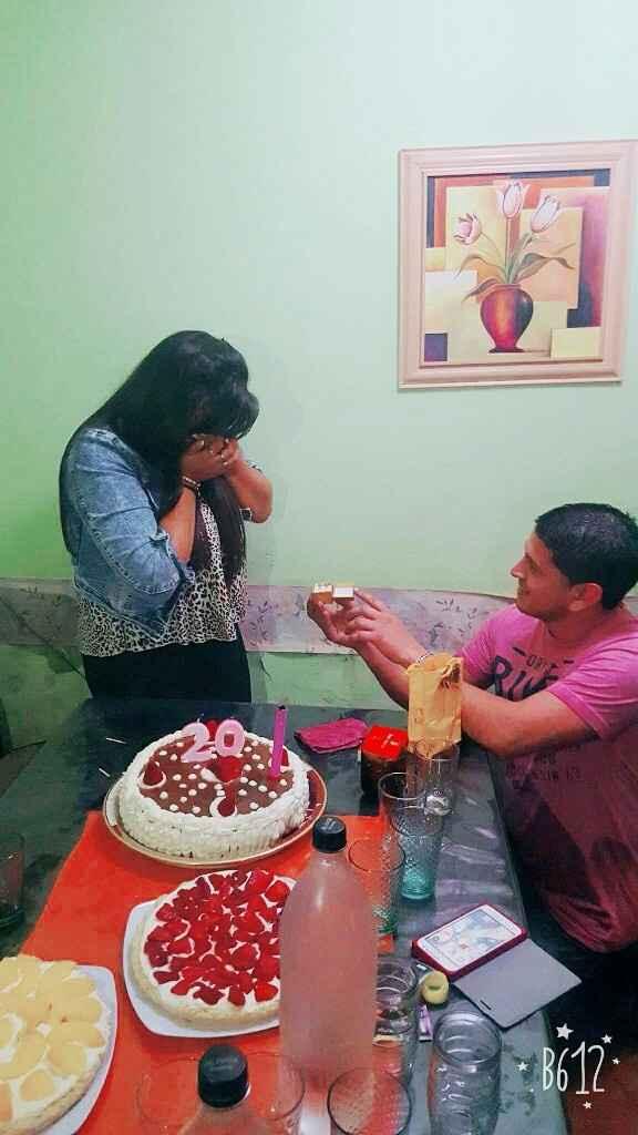 Cumple sorpresa con propuesta de casamiento - 1
