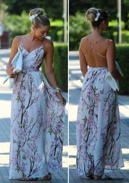 Vestidos de fiesta para casamiento al aire libre