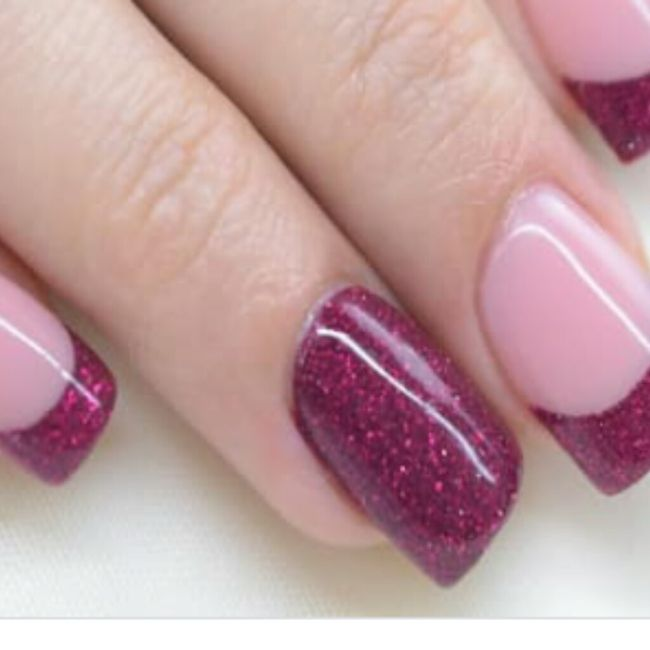 ¡Manicure violeta! 💜 11