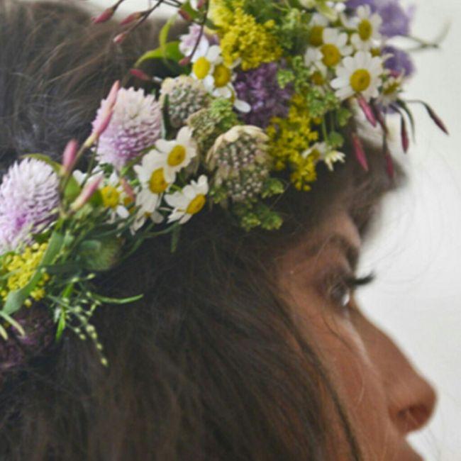 Que flores se considerarían estilo vintage? 1