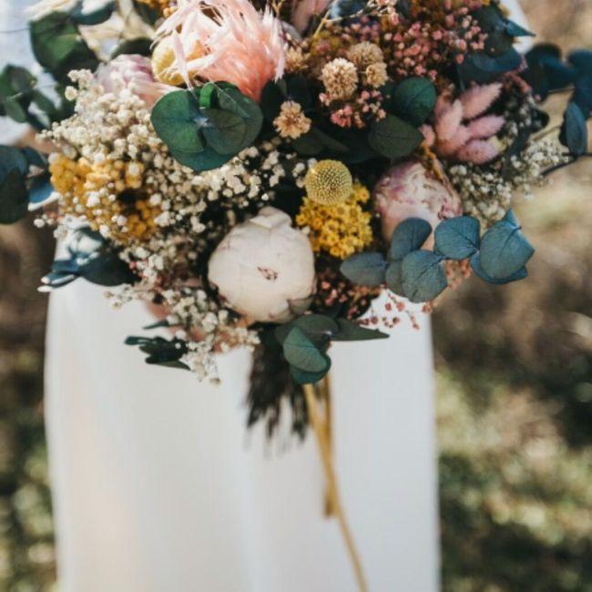 Que flores se considerarían estilo vintage? 5