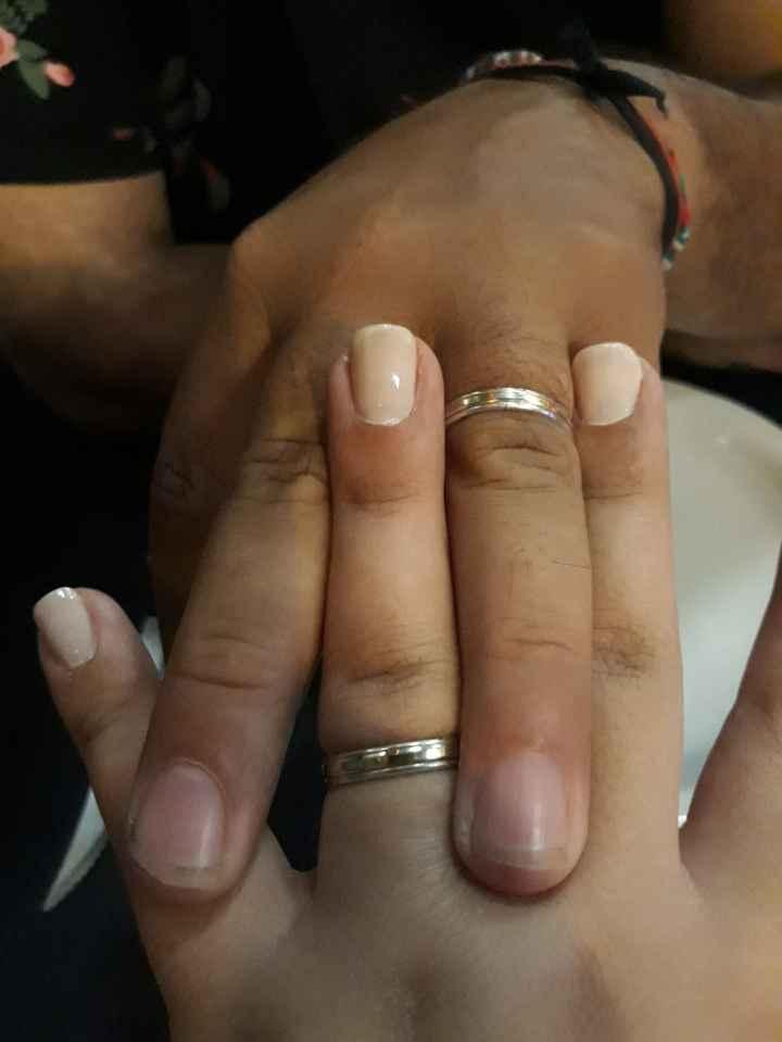 ¿Cómo es tu anillo de compromiso? - 1