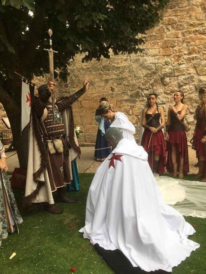 Boda medieval de Eduardo Rivara y Sheila González - 13