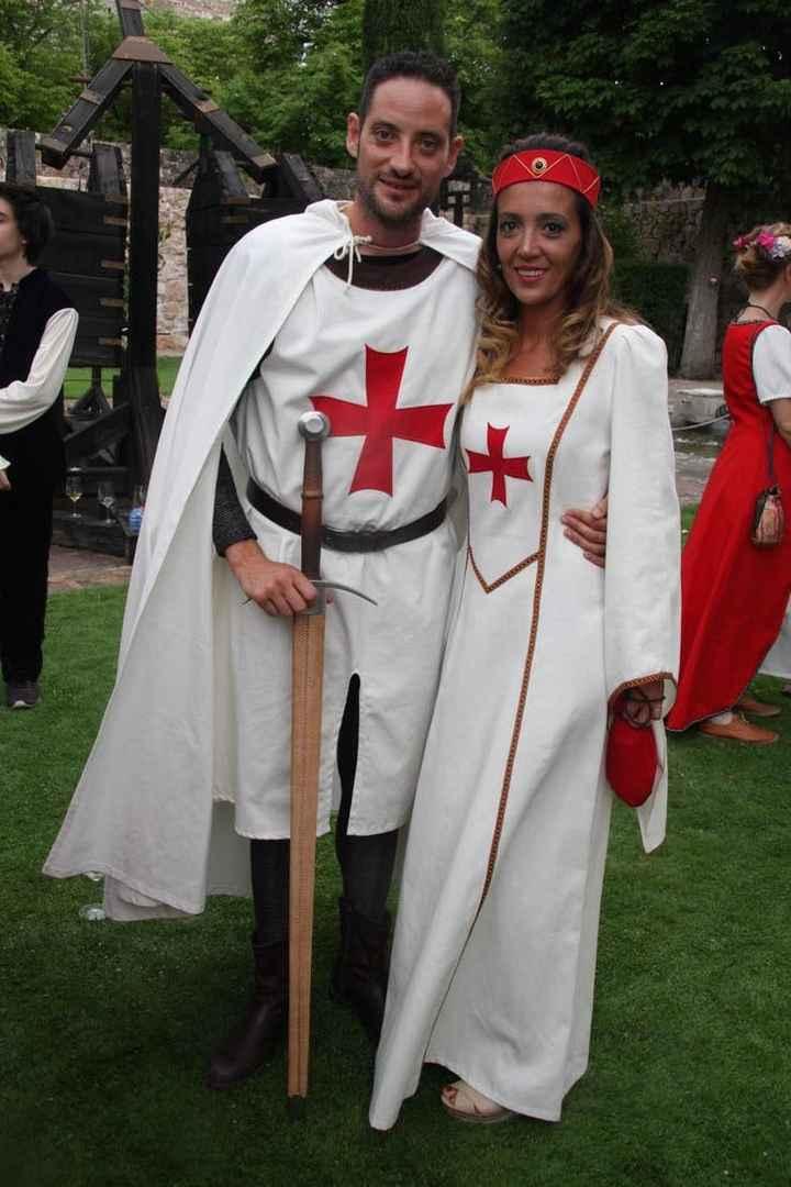 Boda medieval de Eduardo Rivara y Sheila González - 14