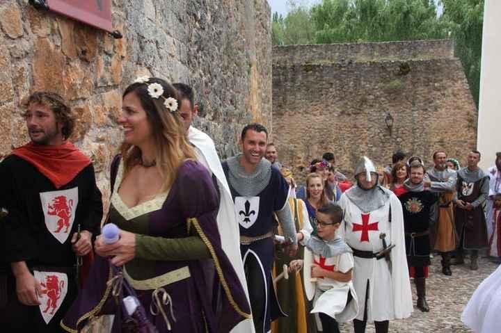 Boda medieval de Eduardo Rivara y Sheila González - 15