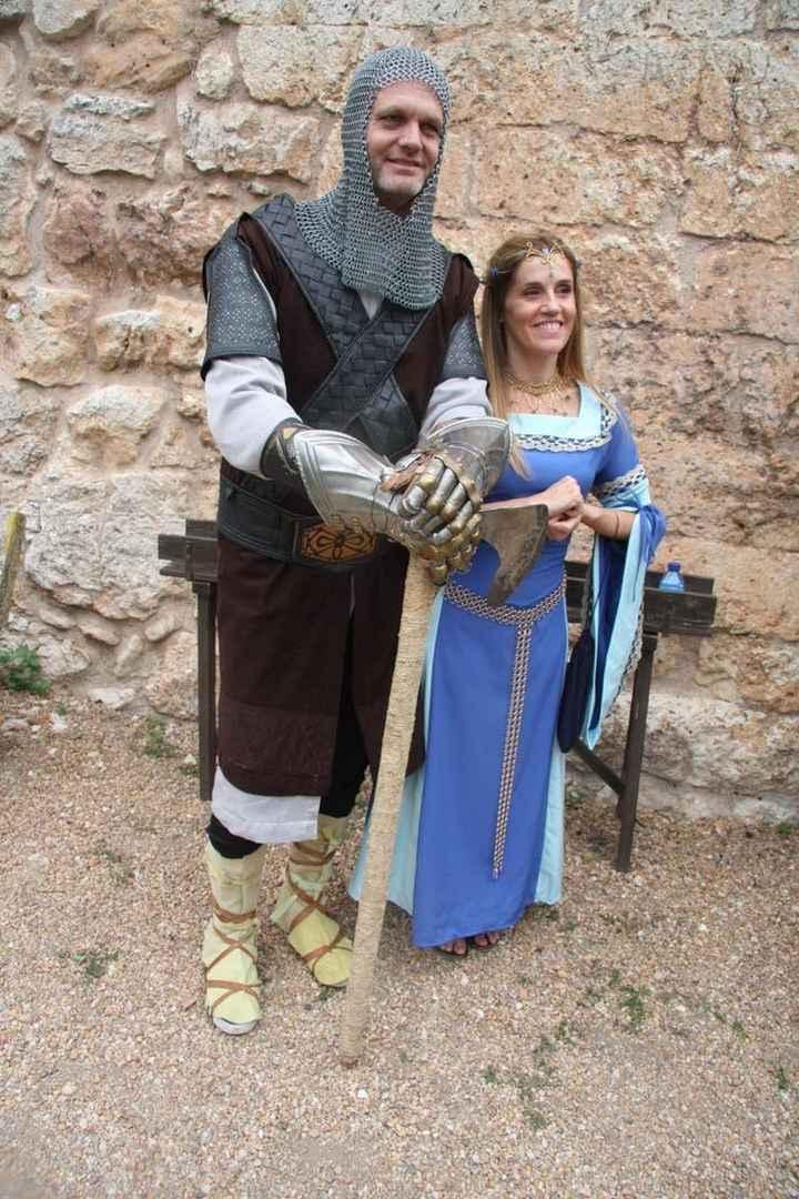 Boda medieval de Eduardo Rivara y Sheila González - 16