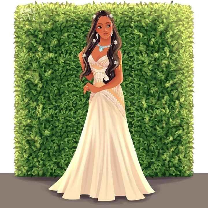 Princesas Disney de Novia - 6