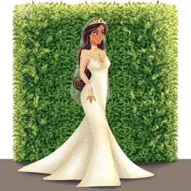 Princesas Disney de Novia - 9