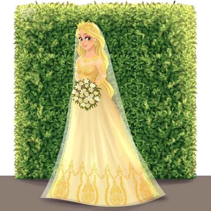 Princesas Disney de Novia - 11