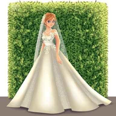 Princesas Disney de Novia - 13
