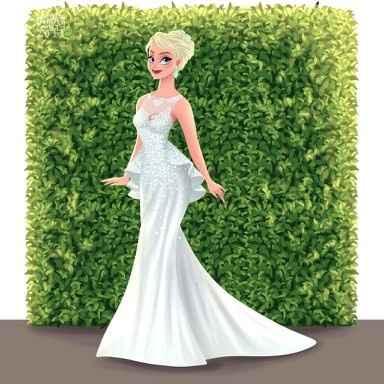 Princesas Disney de Novia - 16