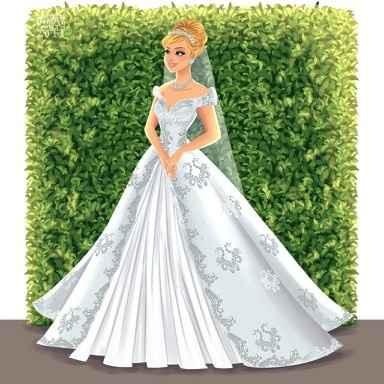 Princesas Disney de Novia - 18