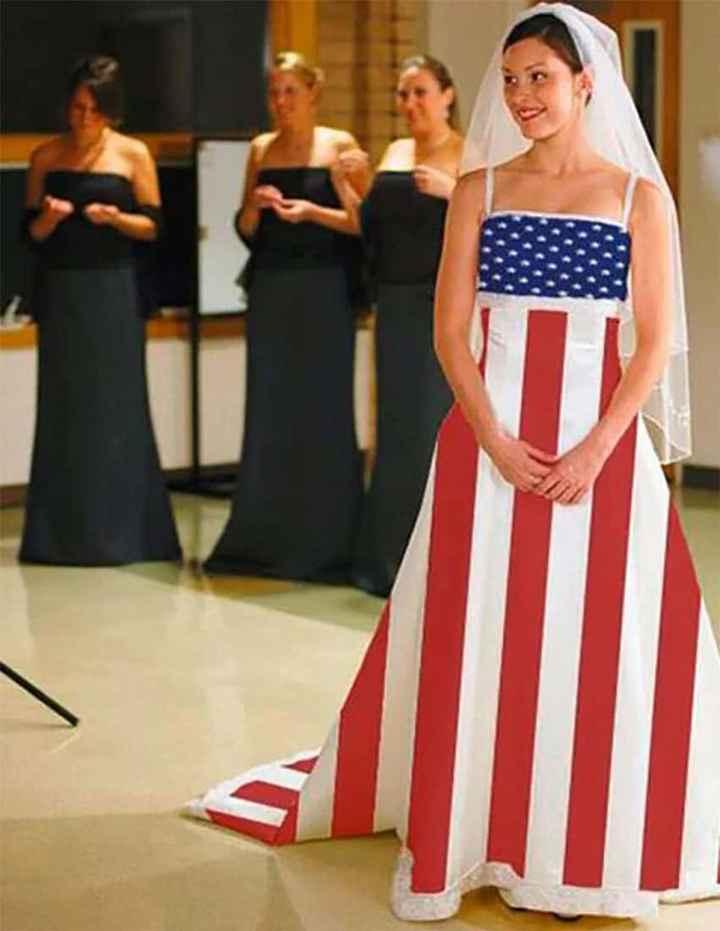 Perlita de viernes: vestidos de novia que dejaron a los invitados con la boca abierta :o - 8