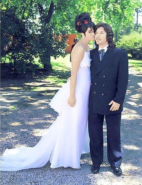 Araceli Gonzalez: sus bodas 2