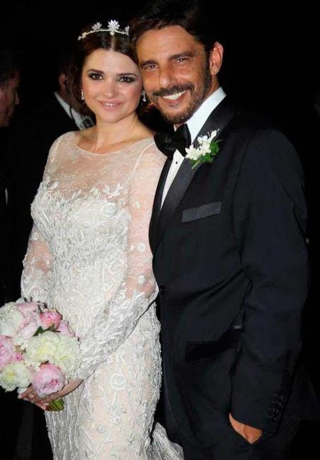 Araceli Gonzalez: sus bodas 4