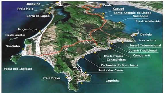 Luna de Miel en Brasil: 7 destinos 2