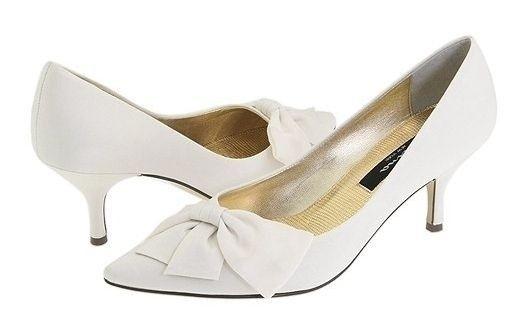 zapatos para novias taco bajo
