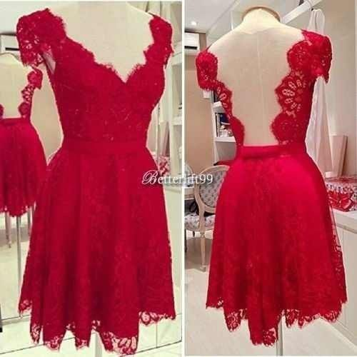 Vestidos de Civil - color rojo 3
