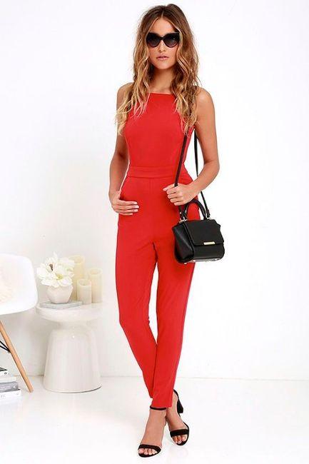 Vestidos de Civil - color rojo 4