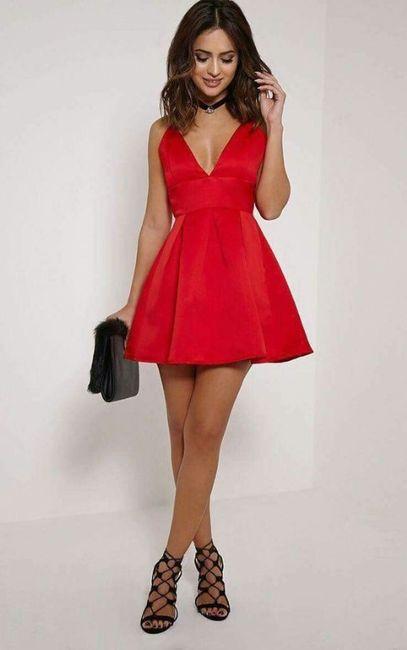 Vestidos de Civil - color rojo 5