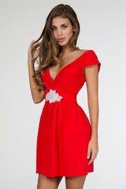 Vestidos de Civil - color rojo 10