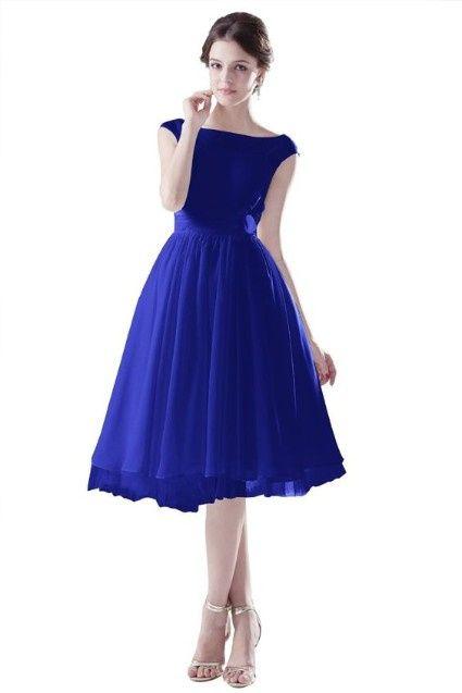 Vestidos De Civil Color Azul Página 2