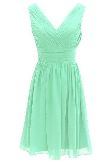 Vestidos de Civil - color verde 3