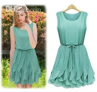 Vestidos de Civil - color verde 14