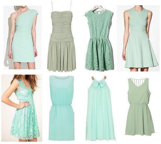Vestidos de Civil - color verde 15