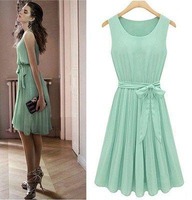 Vestidos de Civil - color verde 16