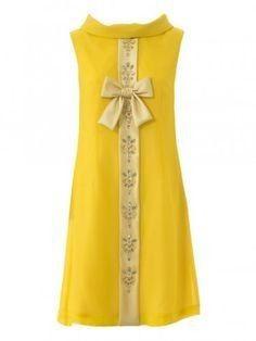 Vestidos de Civil - color amarillo 2