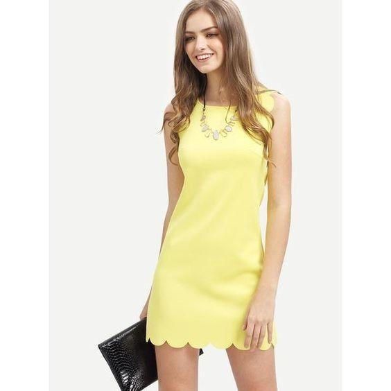 Vestidos de Civil - color amarillo 6