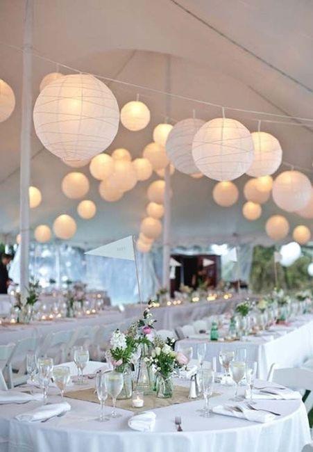 Reglas de la decoración de bodas modernas 1