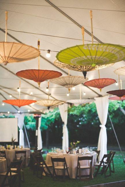 Reglas de la decoración de bodas modernas 2
