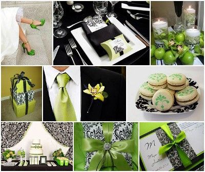 Reglas de la decoración de bodas modernas 11