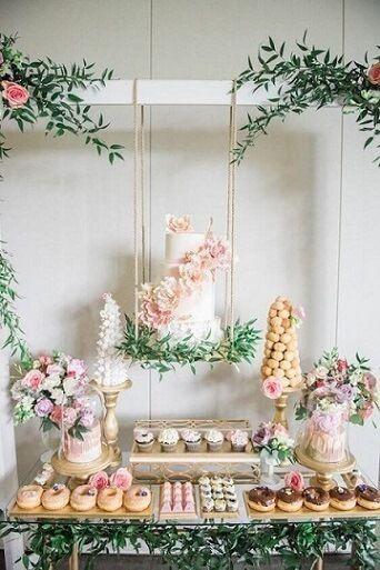 Reglas de la decoración de bodas modernas 8