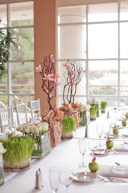 Reglas de la decoración de bodas modernas 9