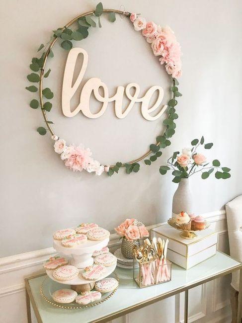 Reglas de la decoración de bodas modernas 10