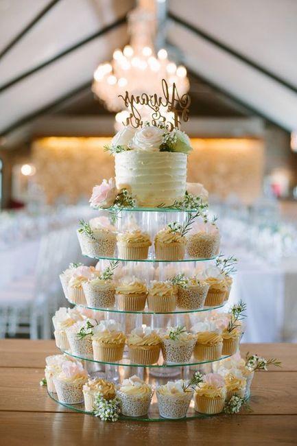 Tortas modernas: con cupcakes 5