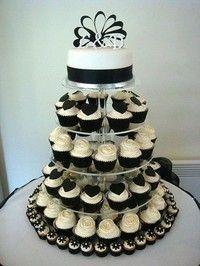 Tortas modernas: con cupcakes 8
