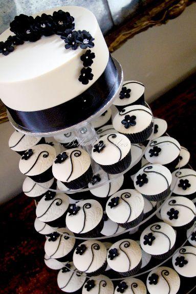 Tortas modernas: con cupcakes 10